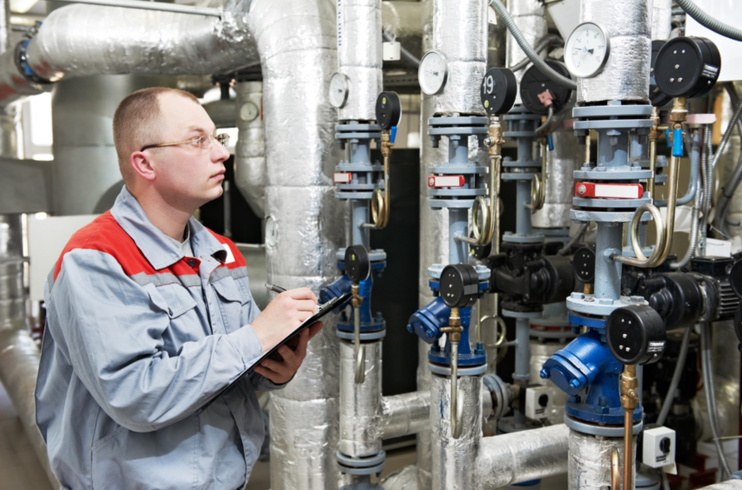 какои контроль долж быть за газовои котельнои производство