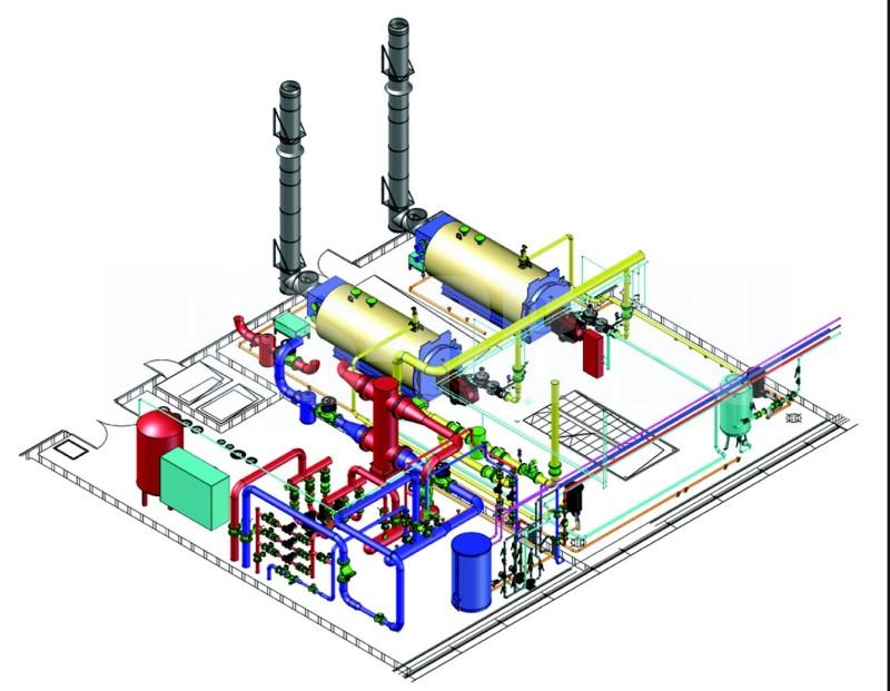 нормы проектирования газовоздушного тракта котельной