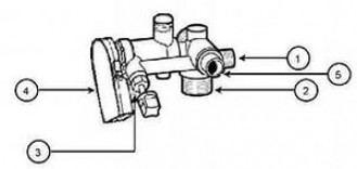 Ограничитель протока ГВС до 8 л/мин Immergas / Иммергаз ( арт.: 9630 )