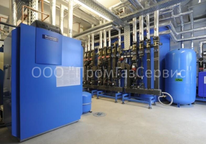 Проектирование и монтаж газовых котельных Buderus