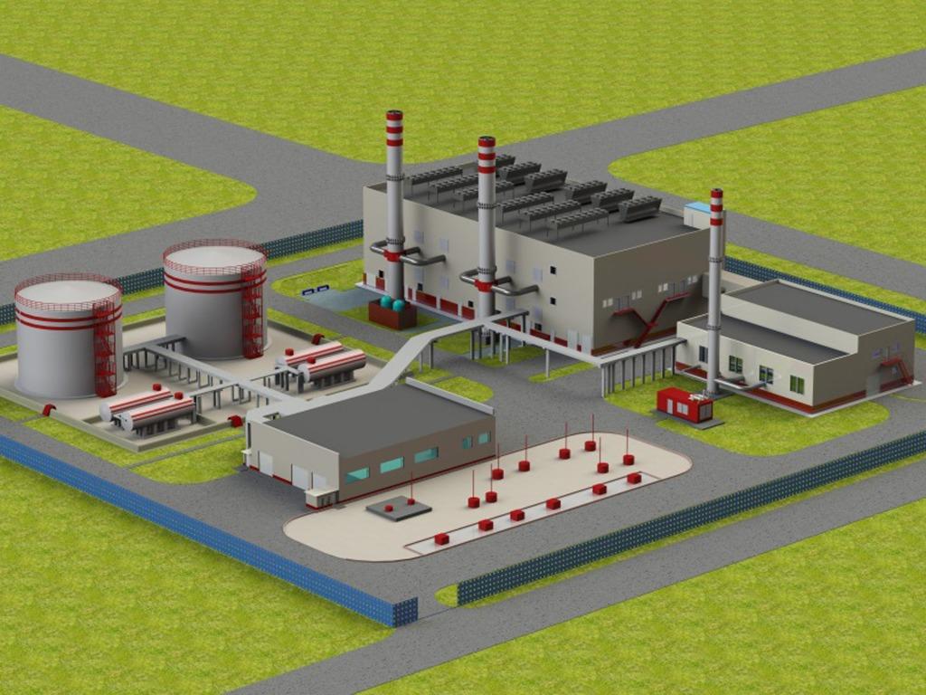 Услуги проектирования промышленных газовых котельных