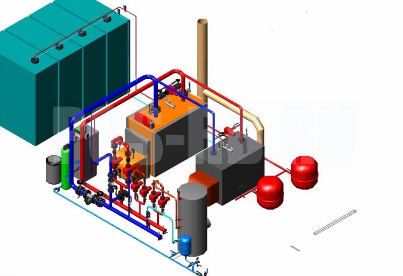 проект котельной на дизельном топливе