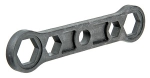 Ключ для пробок и переходников для монтажа радиаторов